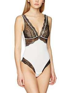 ESPRIT Bodywear 017CF1T067, Body Femme, Blanc (Off White), 38