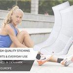 Quarter Pro Chaussettes de Sport (EU 39-42, Blanc – 3 Paires)
