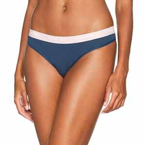 Calvin Klein Thong, Tanga Femme, Bleu (Intuition), 12 (Taille Fabricant: Large)