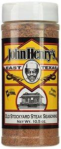 John Henry's Ancien parc à bestiaux Steak frotter, 10,5