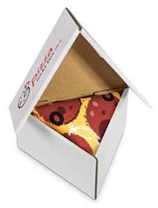 Pizza Chaussettes 1 paire Peppéroni Des chaussettes très originales, produites en UE, un cadeau idéal Taille 36 37 38 39 40