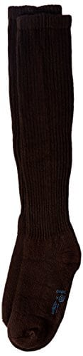 Jobst 110859 SensiFoot 8-15 mmHg Knee High unisexe diab-tiques Support Socks doux – Taille & Couleur-Brown, X-Large