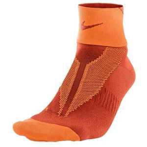 Nike One de Quarter Socks Elite Run Lightweight, Mixte, One-Quarter Socks Elite Run Lightweight, Team Orange/TOT Or