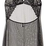 Aubade Passion, Nuisette Femme, Noir, 36 (Taille Fabricant: 1)