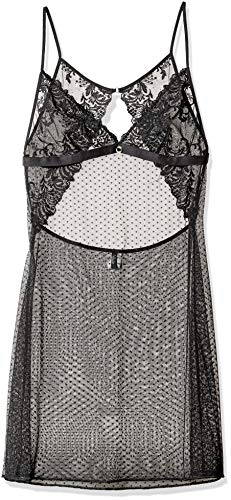 Aubade Passion, Nuisette Femme, Noir, 38 (Taille Fabricant: 2)