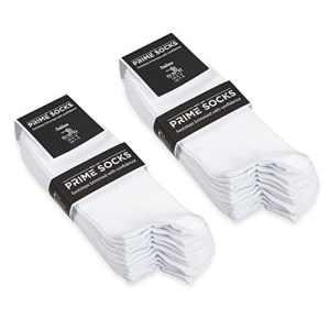 Prime Socks No-Show White 35-38