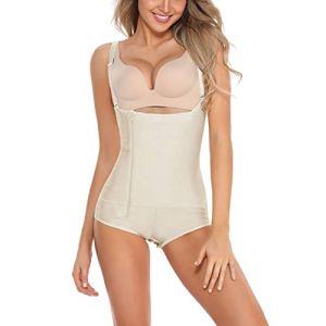 BARGOOS Femme Underbust Corset Culottes Sculptantes Body Gainant Amincissants Sculptants Corsets Bustiers Lingerie Minceur Body Shaper