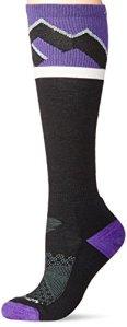 Darn Tough Mountain Top Cushion Sock – Women's Purple Large