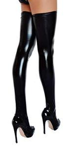 etrado fashion Bas autofixants – Femme – Taille L