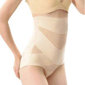 Mingrn Femme Ventre Plat Plus Mince Modelant Hip-Lift Compression Culotte Ceinture Sculptant – Couleur Chair, XXL