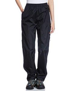 Patagonia Torrentshell Pantalon Femme, Noir, FR : L (Taille Fabricant : L)