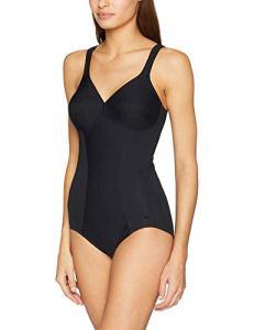 Triumph Modern Soft+Cotton BS Combinaison Gainante, Noir (Black 0004), 95A Femme