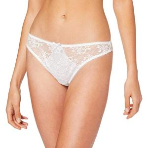 Aubade Courbes Divines Tanga Blanc (Rêve D'Opale Reve) 135K (Taille fabricant:3) Femme