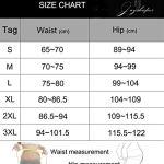 Joyshaper Jupe Sculptant Femme Haute Taille avec Slip Amincissante Shapewear sous-vêtement sans Couture, Noir, 3XL