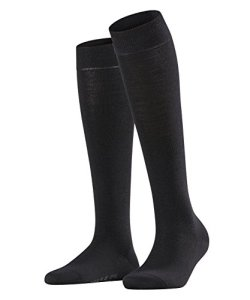 FALKE Softmerino Chaussettes Femme NA Noir (Black 3009) 37/38 (Taille fabricant: 37-38)