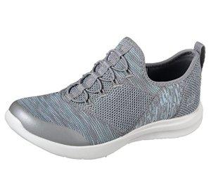 Skechers Studio Comfort Mix and Match Womens Slip On Sneakers Gray/Mint 5.5