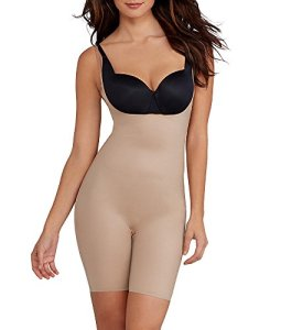 Spanx Two-Timing Body, Beige (Mineral Taupe/Naked2000), 48 (Taille Fabricant: X-Large) Femme