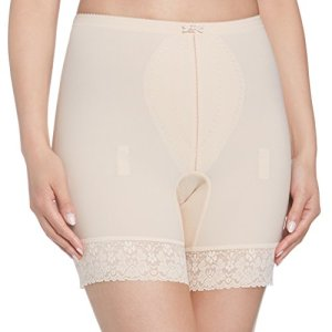Playtex – Collants gainants Femme Playtex I Can't Believe It's a Girdle Medium Long Leg Panty – Beige (Beige) – FR: 38 (Taille Fabricant: S)