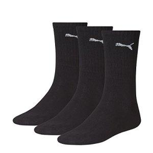 9 pair Puma Sport Socks Tennis Socks Gr. 35 – 49 Unisex, Farben:200 – black, Socken & Strümpfe:39-42