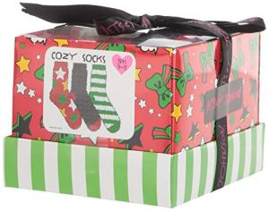 Betsey Johnson Women's All Over Star and Stripe Cozy Gift Box BJ44829, Multi, One Size