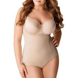 Body gaine sans bonnets Julie Nude