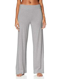 Calvin Klein Sleep Pant Bas Thermique, Gris (GREY HEATHER 020), 36 (Taille fabricant: X-Small) Femme