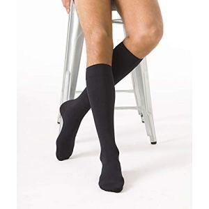 Chaussettes de contention Urban Classe 2 Sigvaris Noir Taille L Hauteur Long