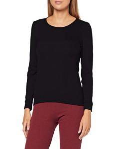 Damart Tee Shirt Manches Longues. Haut Thermique, Noir (Noir 56680-17010), 42 (Taille Fabricant:M) Femme