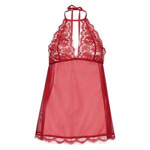 HUNKEMÖLLER Femme Baby-Doll Lace Rouge M