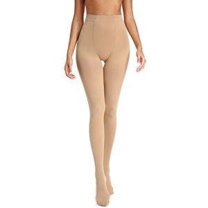 Joyshaper Femme Collants de Soutien Bas de Maintien Chaussettes de Compression Legging Minceur Opaque Sculptant Gainant