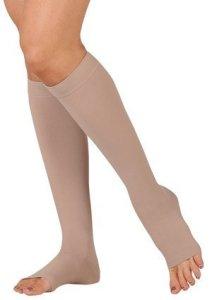 Juzo Varin Knee High Open Toe Short 30-40mmHg, III, Beige by Juzo