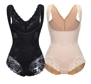 SLIMBELLE® Femme Combinaisons Sculptantes Lingerie Amincissante Body Gainant Ventre Plat Gaine Minceur Shapewear Serres-Taille