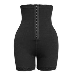 Body Sculptant Lingerie FNKDOR Femme Culotte Sculptante Minceur Gainante Invisible Taille Haute Shapewear pour Ventre Plat Gaine Amincissante(A Noir,3XL)