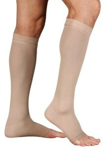 Juzo Soft Knee High petite Open Toe 20-3-mmHg by Juzo