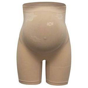 AUUUA Taille M/Femmes Taille Haute Shapewear Maternité Body Shaper Grossesse Abdomen Soutien-Gorge Culotte sans Couture Minceur Shorts Legging Pantalon Robe