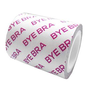 Bye Bra Adhesif Soutien-Gorge Rouleau pour La Poitrine avec Soie Caches Tétons, Push Up, sans Bretelles, Dos Nu, Ajustable Ruban Adhesifs