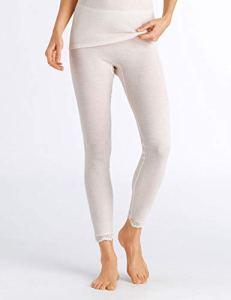 Hanro Woolen Leggings Bas Thermique, Beige (Vanilla 071203), 50 (Taille Fabricant: Large) Femme