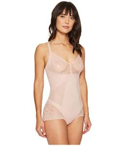 Spanx Lace Collection Bodysuit, Baby Dolls Femme, Rosa (Vintage Rose 0), 44 (Taille Fabricant : XL)