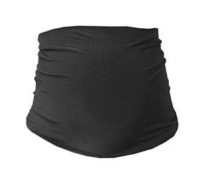 Mija – bande de ventre de maternité – 30 couleurs – Bande /ceinture de support 1024 (Noir)