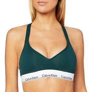 Calvin Klein Lift Bralette Bustier, Vert (Camp CP2), L Femme