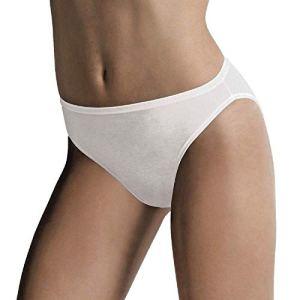 Cotonella 12 Slips Taille 5/XL Blanc Art. 3939 (4 Tris)