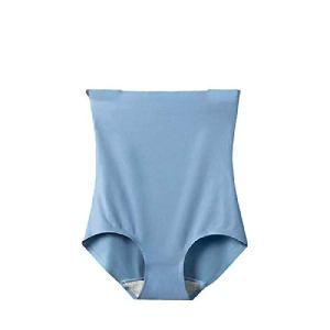 Culottes Sculptantes Femme Taille Haute Minceur Gainante Amincissante Ventre Plat Invisible Panty Abdominale Récupération SlipWood blueM【40-52.5kg】