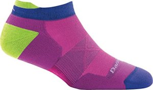 Darn Tough Vertex No Show Tab Ultra-Light Sock – Women's Clover Large