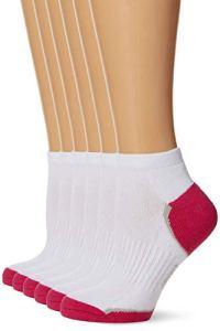 Dim Bundle Socquette Sneaker x6 Chaussettes, Blanc (Blanc 0hy), 35/38 (Taille fabricant: 35-38) (lot de 6) Femme