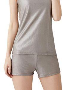 Ensemble De Sous-Vêtements De Protection Contre Les Rayonnements Électromagnétiques 100% En Fibre D'argent,Boxers,M
