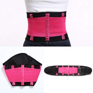 Femme Taille Haute Jupe Sculptante Amincissante Ventre Plat Body Shapewear Skirt Rose RedXXL