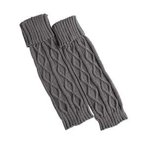 Jambières chaudes d'hiver pour femme avec bordure en fourrure, couleur unie (8)