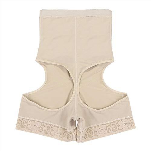 KSFBHC Transparente Amincissants Body Shaper Push Up Lift Up sous Panty Minceur (Color : Beige, Size : XXX-Lager)