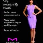 Maidenform – Jupe Sculptante – Amincissant – Uni – Femme – Noir – FR: 95C (taille fabricant 36C)