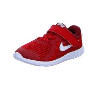 Nike Revolution 4 (TDV), Chaussons Mixte bébé, Rouge (Gym Red/White-Team R 601), 22 EU